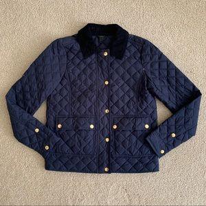 J. Crew quilted down field barn jacket coat XXS
